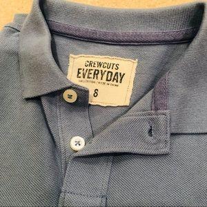 Crewcuts Shirts & Tops - Crew cuts long sleeve boys polo size 8 NWOT